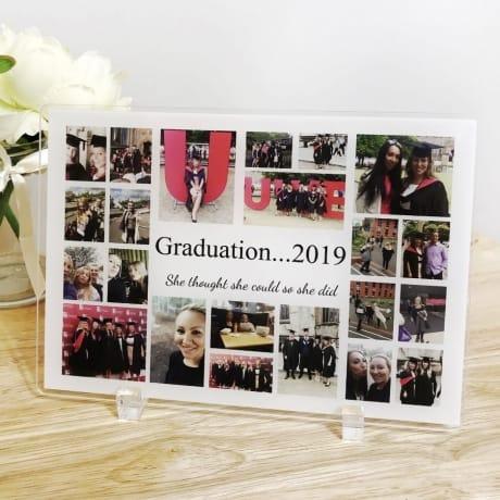22 Photo Collage Graduation acrylic plaque