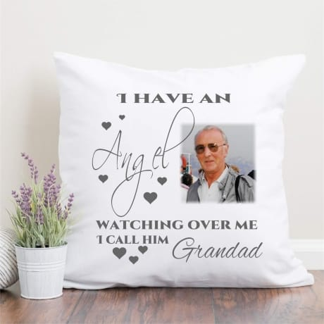 Personalised cushion - I have an angel...