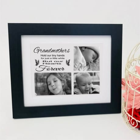 Personalised Keepsake - Grandmothers hold our tiny hands