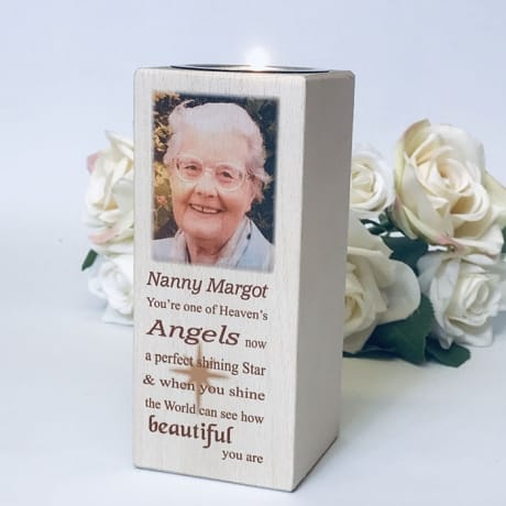 Tall Tealight holder - Heaven's Angel
