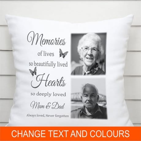 Personalised Cushion - Memories