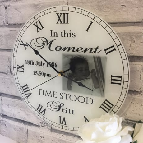 Clock Moments in time 1017