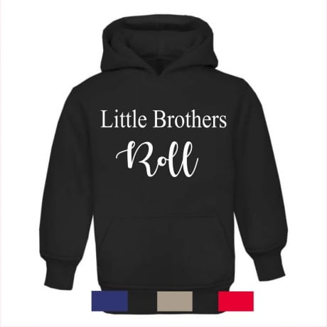 Little brother's roll hoodie