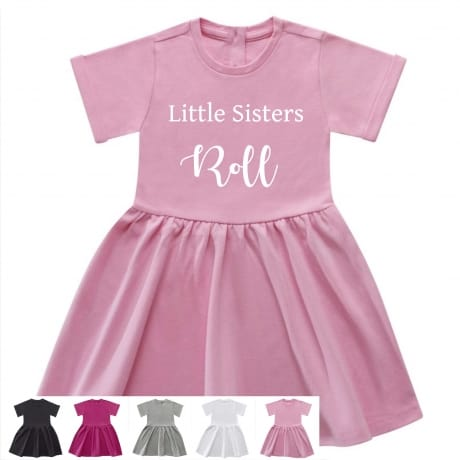Little sisters roll dress