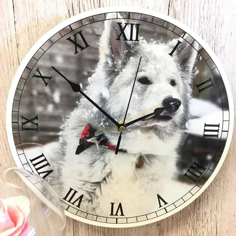Personalised clock - Add your favorite photo