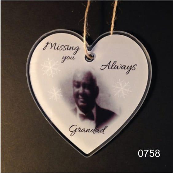 0758- Missing you Grandad