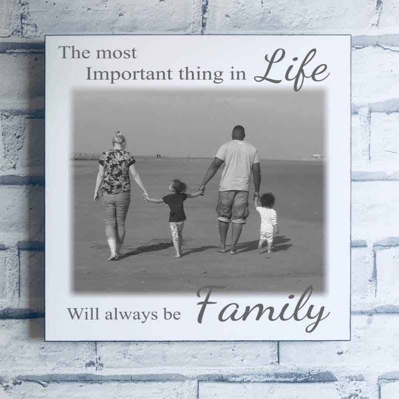 Photo Panel : The most important thing in life