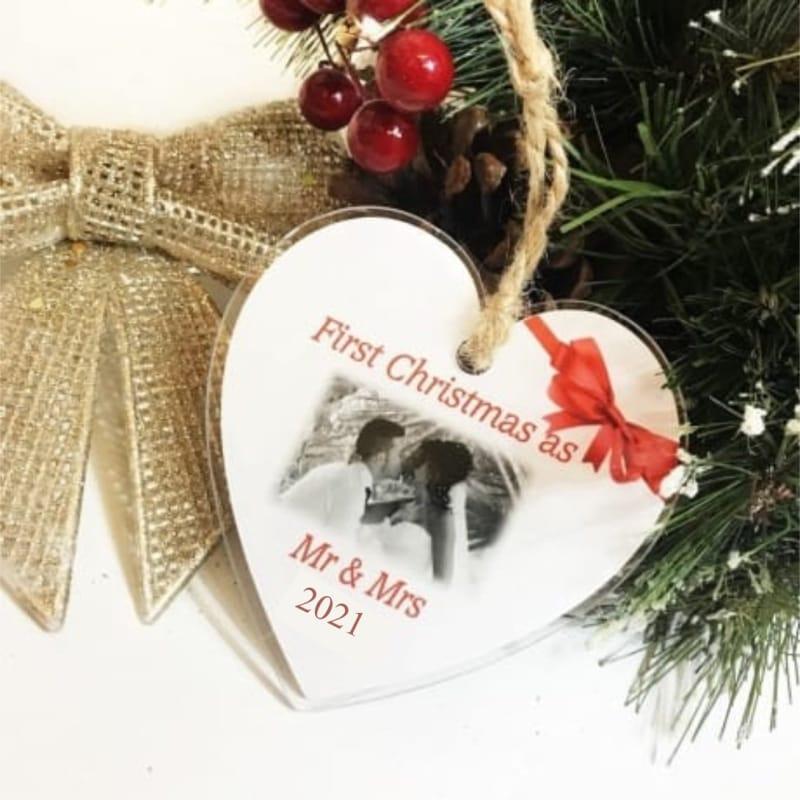 Christmas heart 1st Christmas as