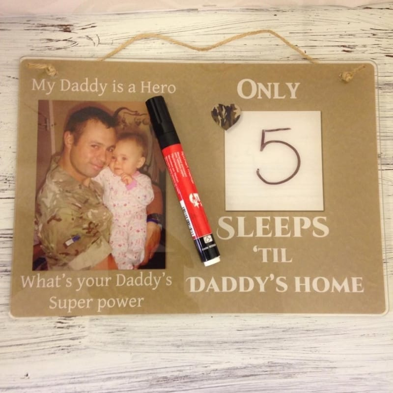4003 countdown til daddy comes home