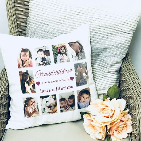 Personalised Cushion - Lasts a lifetime