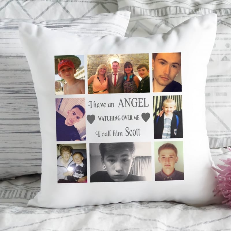 Personalised cushion - Angel