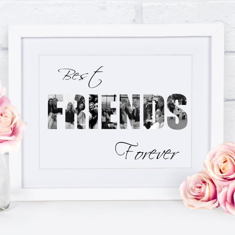 Best friends photo collage