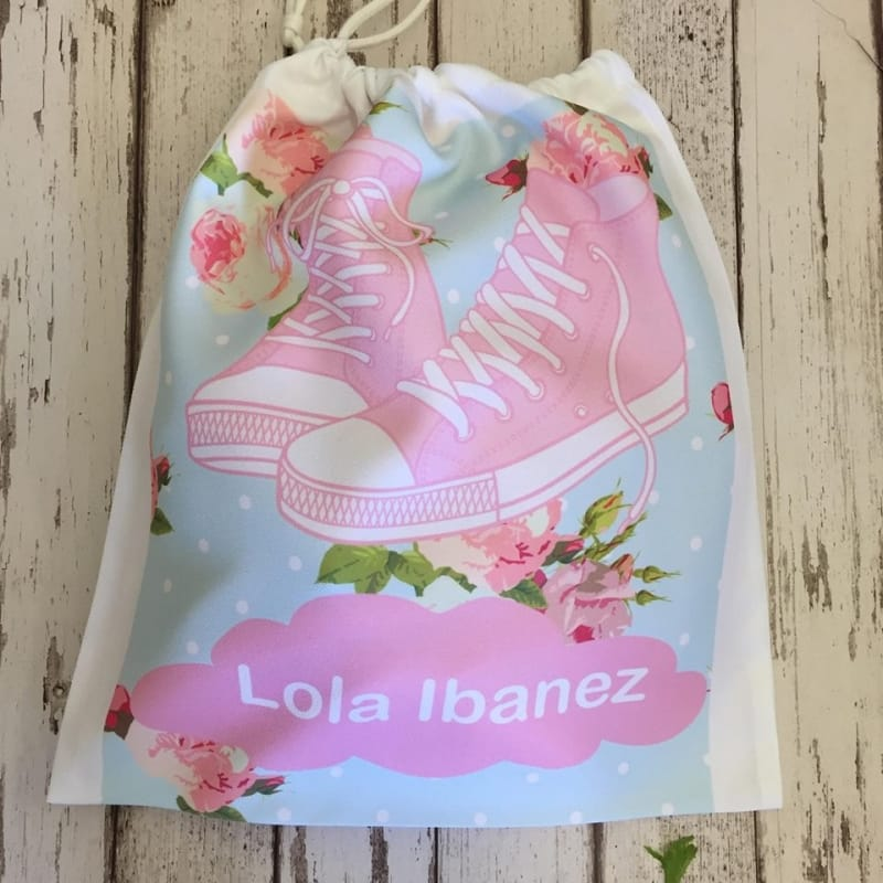 Personalised girls Shoe bag