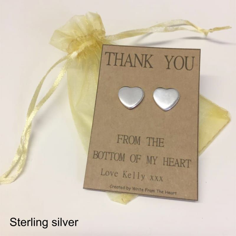 Earrings - Thank you