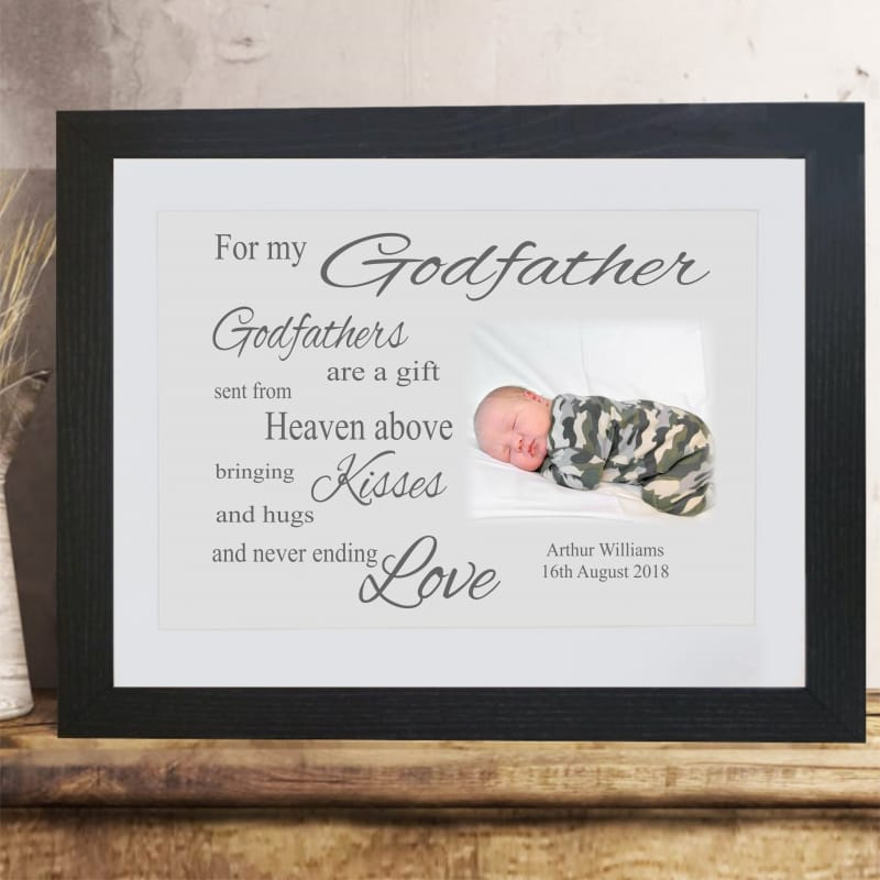 For my Godparent : Frame, Block or Plaque