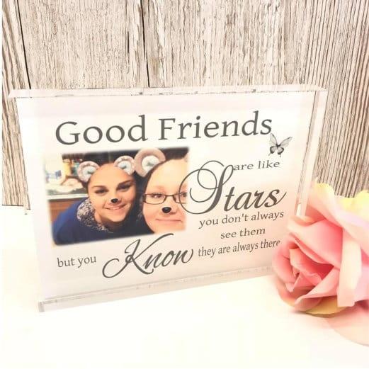 Personalised Keepsake - Good friends