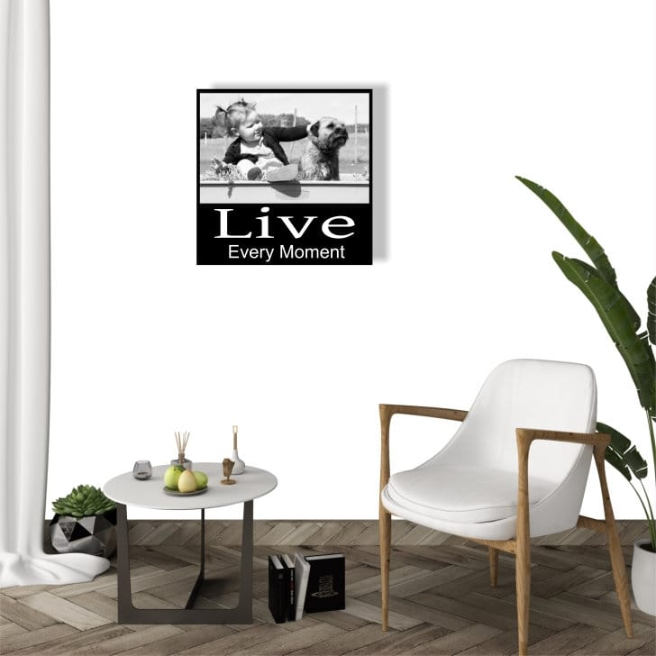 Luxury Photo Panel : Live every moment