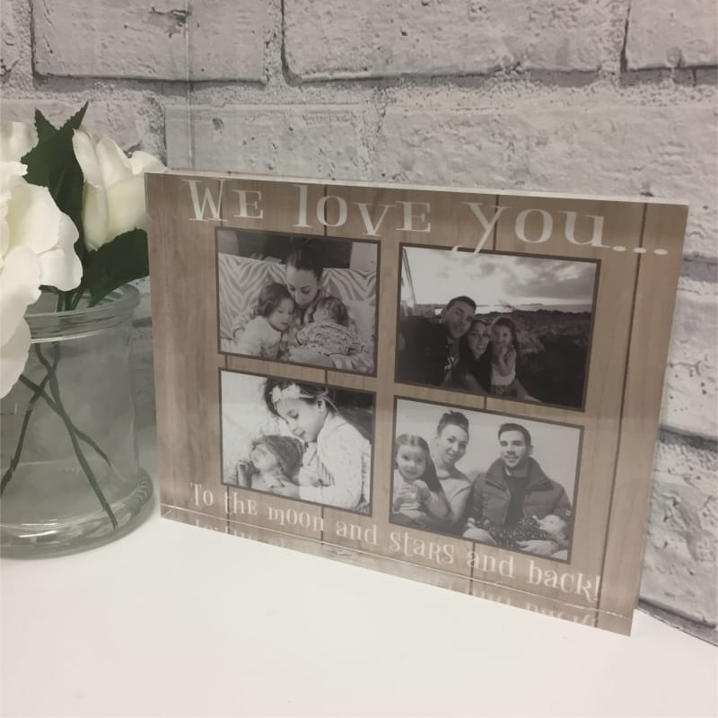 Photo block - Love collage