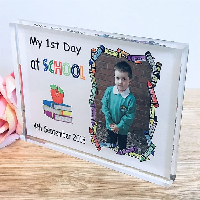 Personalised My First day at School