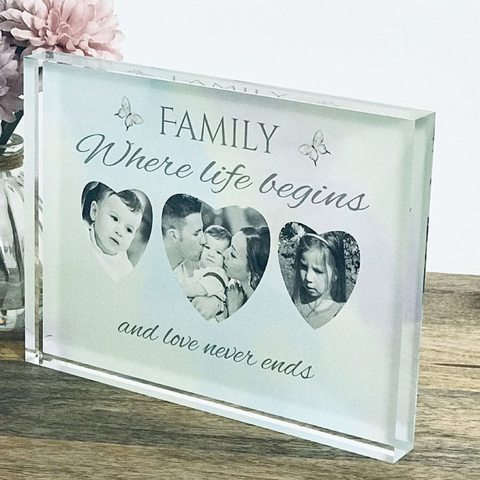Family: Block, Frame or Plaque