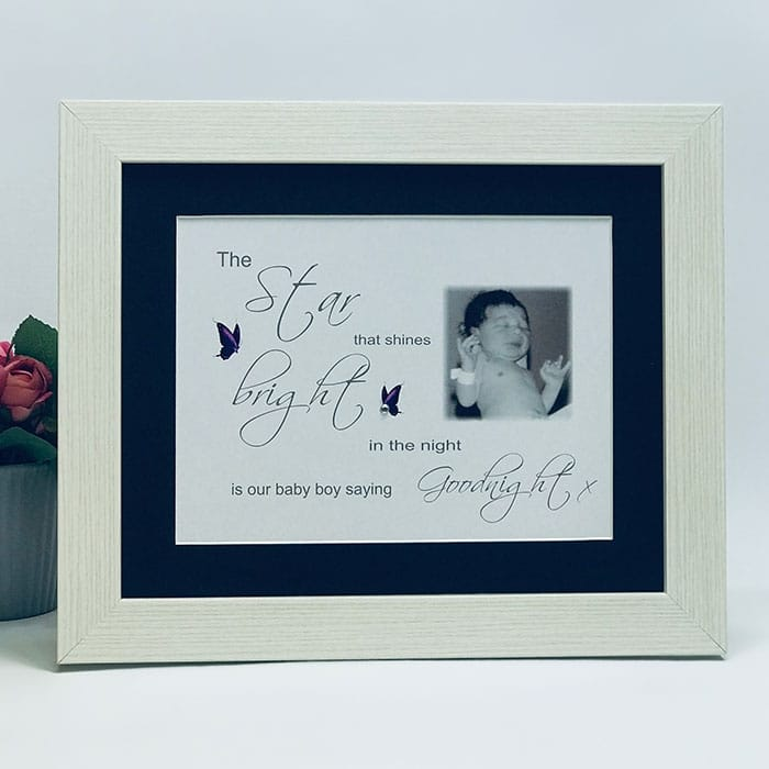 The Star that shines...Frame, Block, Plaque