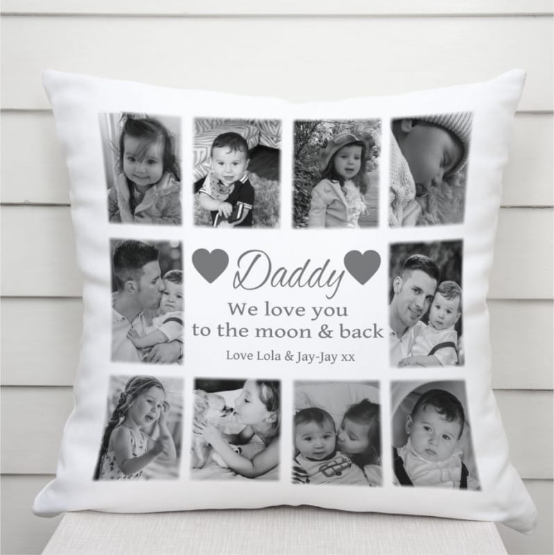 Personalised Cushion - Love you to the moon...