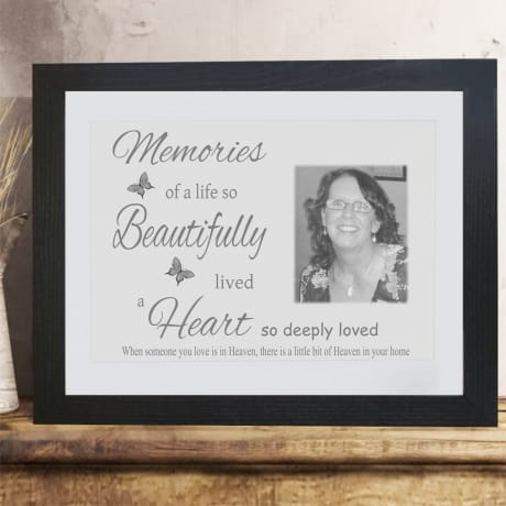 Personalised photo gift - Memories
