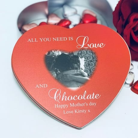 Personalised Mother's Day tin