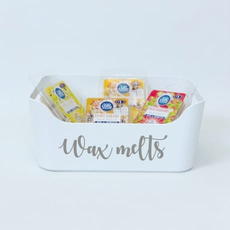 Mrs Hinch inspired wax melts basket
