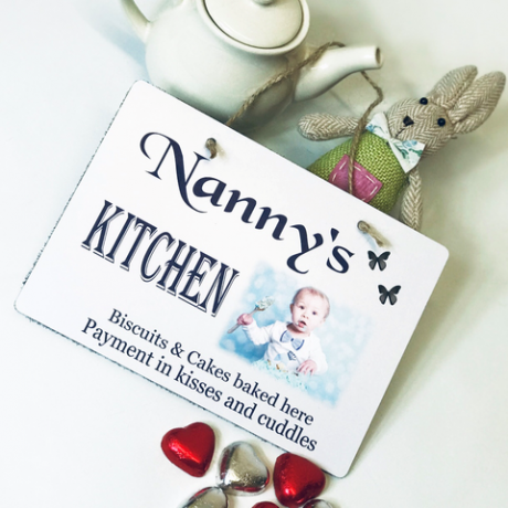 Personalised Plaque - Nanny's Kitchen