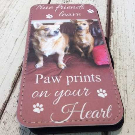 Phone 4 : Paw prints