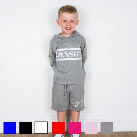 Personalised name hooded T-shirt