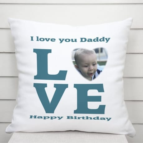 Love photo cushion