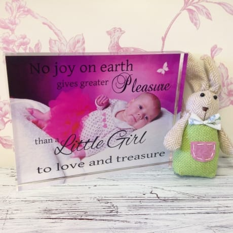 Children's Personalised photo block 0050