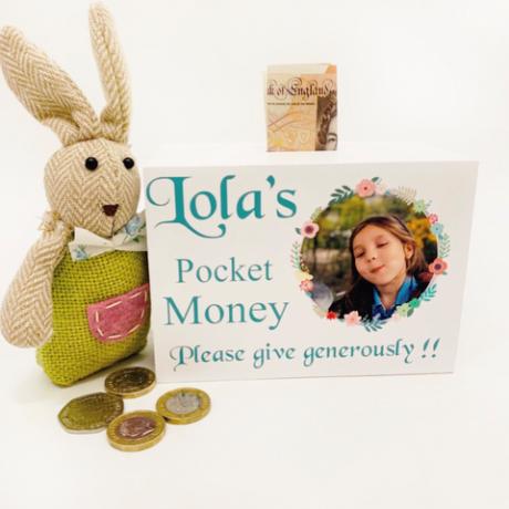 Personalised Pocket Money Box