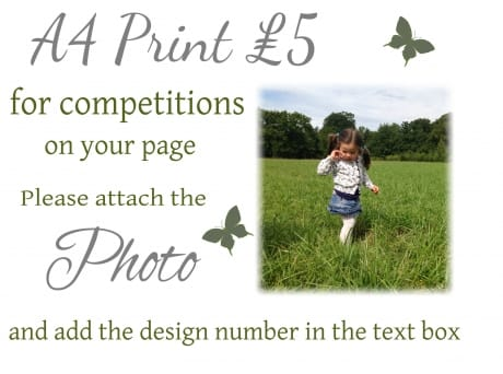 Competition a4 print