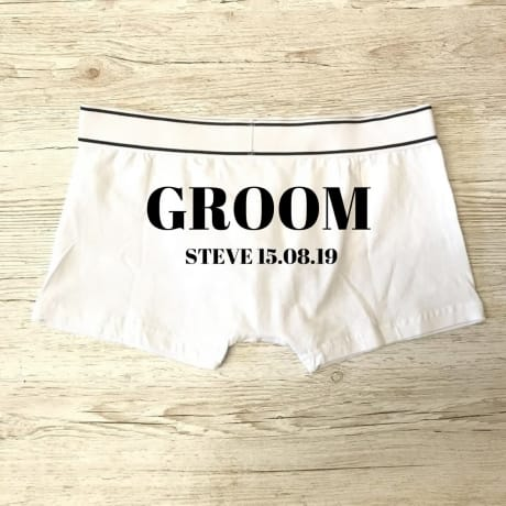 Groom Boxers