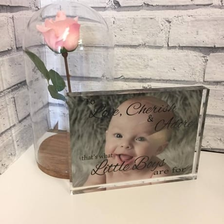Children's Personalised photo block 0043