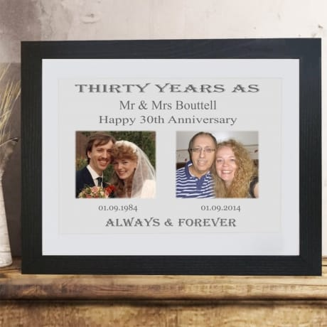 Personalised Anniversary Keepsake